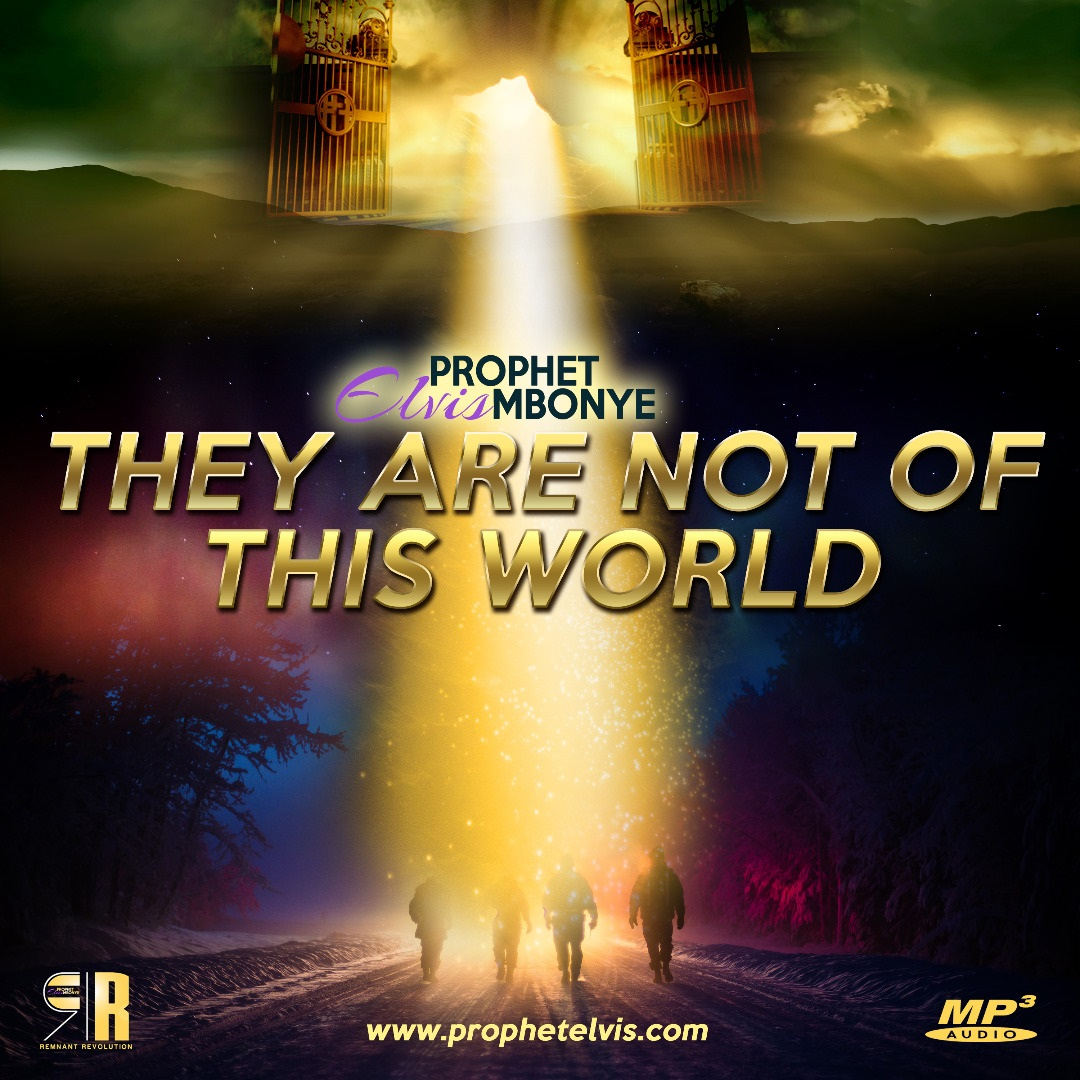 They Are Not Of This World