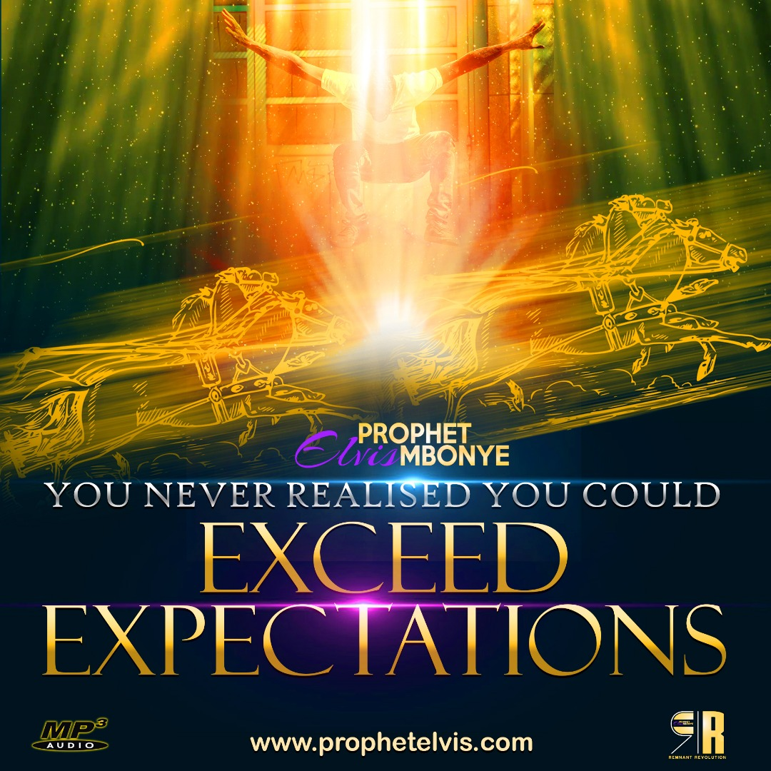 You Never Realised You Could Exceed Expectations